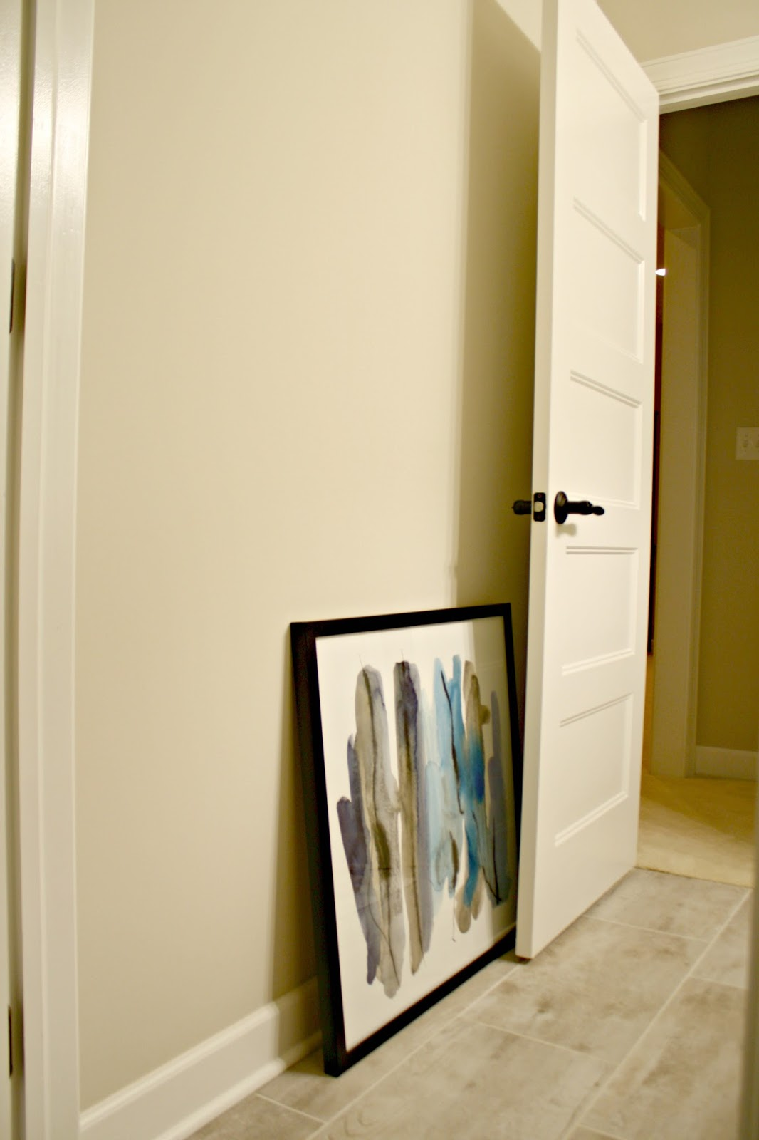 Marvelous I should have shut the door to really show this but you get the idea If a door stays open all the time I go with the former and hang it to