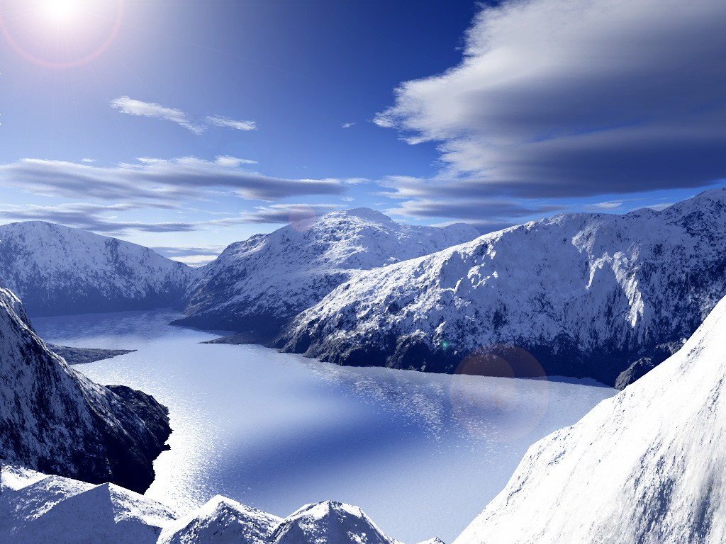 Ice snowy mountains free wallpapers hd high definition - Hd snow mountain wallpaper ...