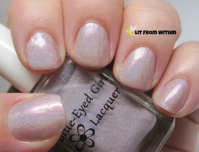 Blue-Eyed Girl Lacquer We Saved The World I Say We Party!