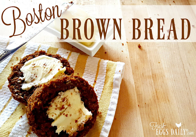 Traditional Boston Brown Bread | Fresh Eggs Daily®