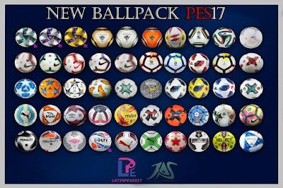 PES 2017 Ballpack 2019 vby LPE09