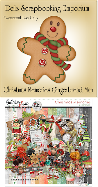 Christmas Memories Gingerbread Man