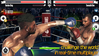 Real boxing game apk splash screen image