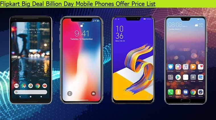 756449a08 Flipkart Big Deal Billion Day Mobile Phones Offer Price List - Updatemyphone