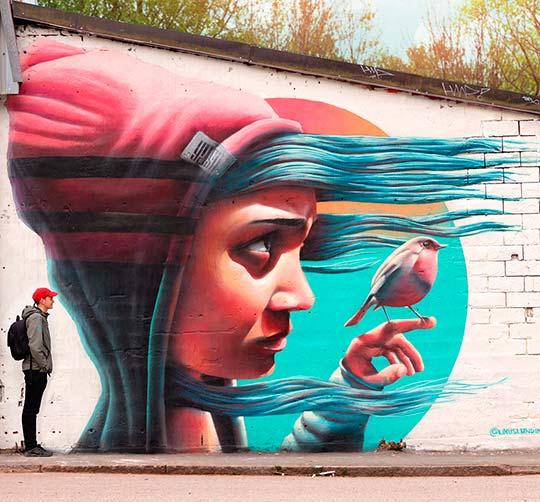 Arte urbano, muralismo y pintura con YASH