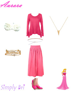Simply Bri Sleeping Beauty Inspired Outfit Casual