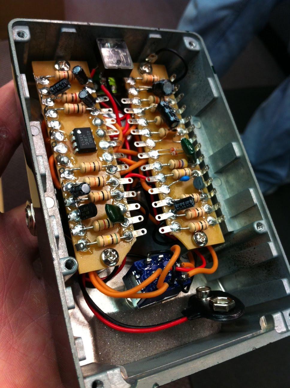 The Guitar Blog Ibanez Tube Screamer Ts808hw Hand Wired
