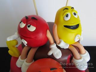 M&M's sugar paste