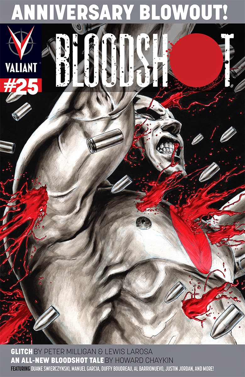 BLOODSHOT #25 – Cover B by Al Barrionuevo