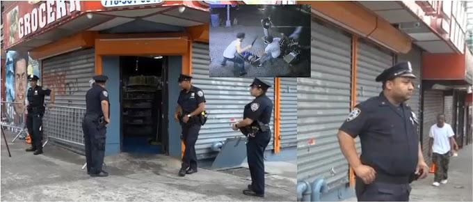 Con protección policial reabren para limpieza bodega donde pandilleros asesinaron a Junior