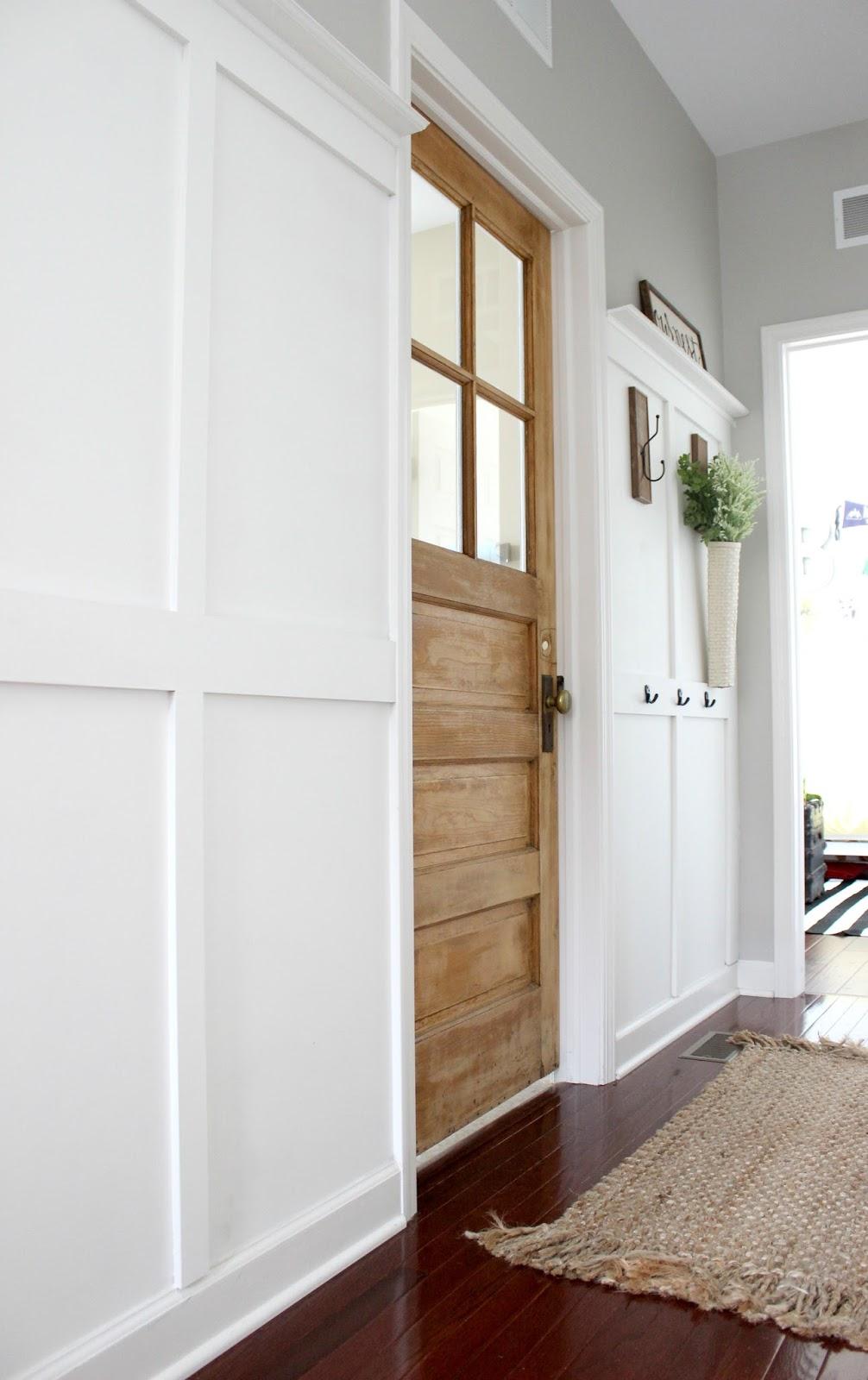old door for laundry room door