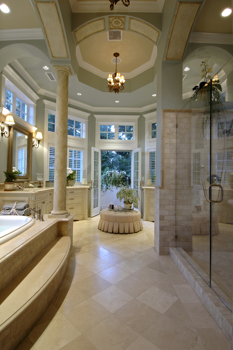 Awesome bathrooms and awesome showers most beautiful for Pretty bathrooms