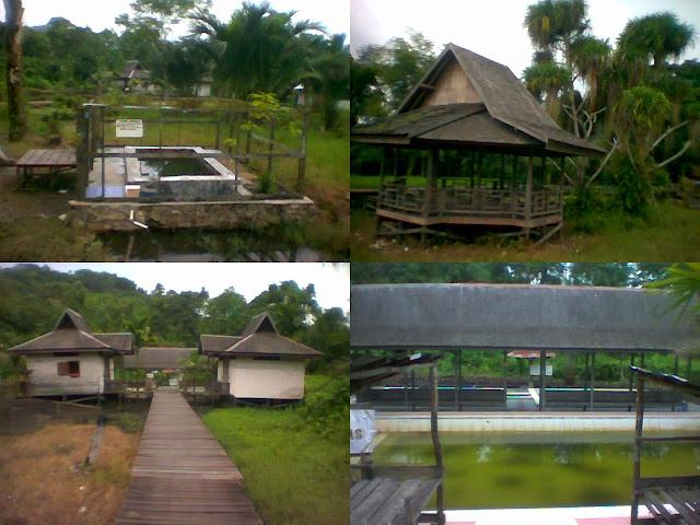 Wisata Alam dan Pemandian Banyu Panas Hantakan (HST) Kal Sel (South Borneo)