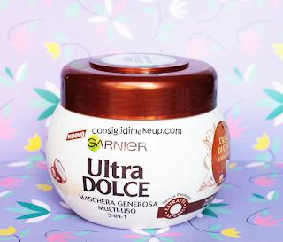 Maschera Multiuso 3-in-1 Crema di cocco e macadamia Ultra Dolce