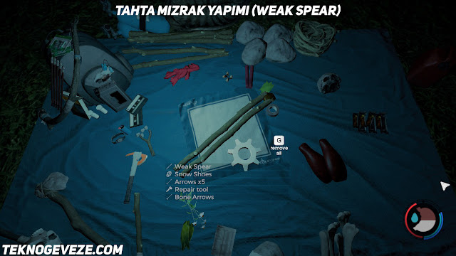 the forest spear yapımı - mızrak