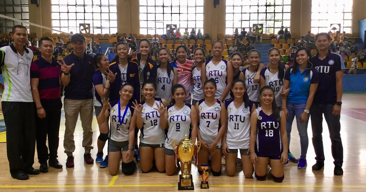 Bleachers Brew: RTU Lady Thunders win NAASCU volleyball crown