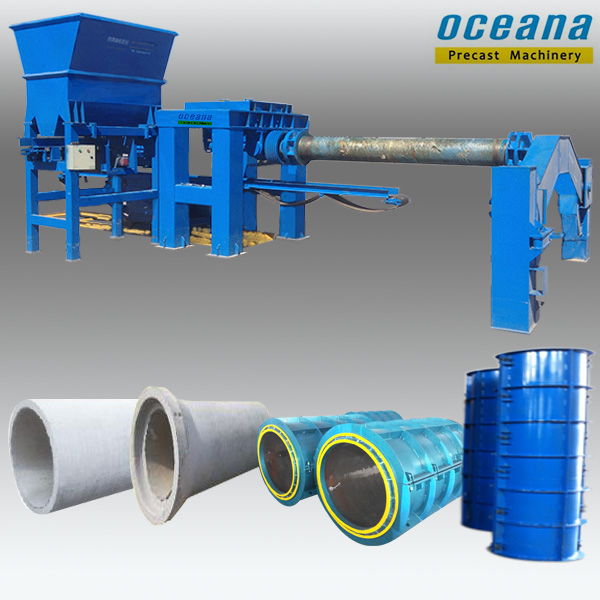 Which of the most widely used concrete pipe process? | Oceana