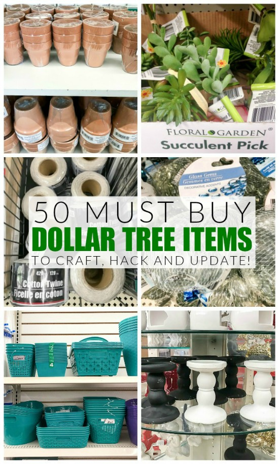 Dollar Tree items to craft, hack and update