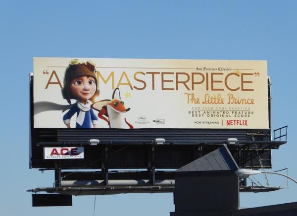 Little Prince Masterpiece consideration billboard