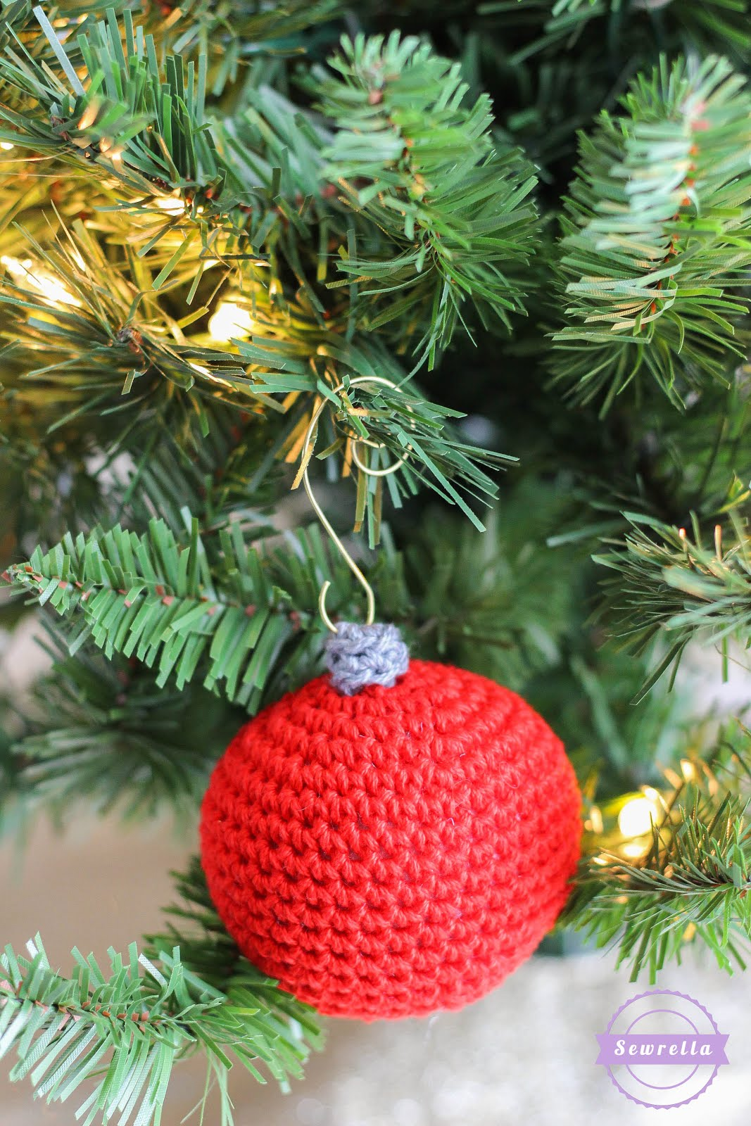 Old Fashioned Crochet Ball Ornament   Christmas Traditions CAL ...