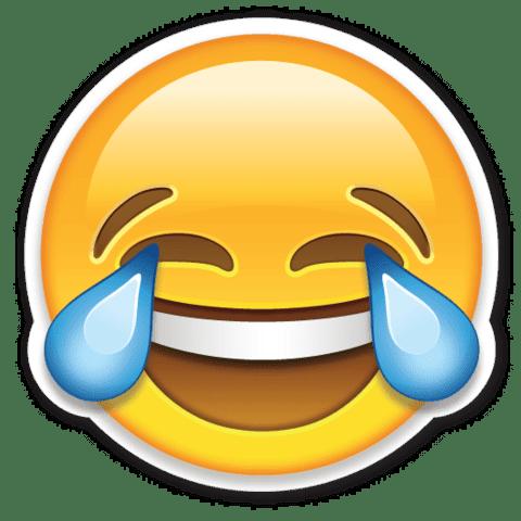 Эмодзи смех