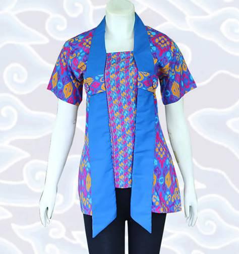 Model Baju Batik Kerja Atasan Muslim: 10 Model Baju Batik Muslim Atasan Wanita Terbaru 2020