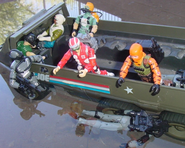 1986 Lifeline, 2004 Tiger Force Beach Head, Convention Exclusive, 1994 Shipwreck, Dee Jay, Wet Suit, 1985 Eel