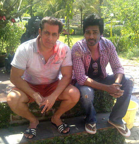 Happy Holi Images, Pictures, Photos of Salman Khan