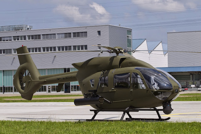 Airbus Helicopter EC645 T2 With Military Livery
