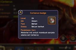 Cara Cepat Mendapatkan Cerberus Badge