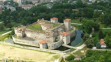 Cetatea Vidin - Vedere aeriana