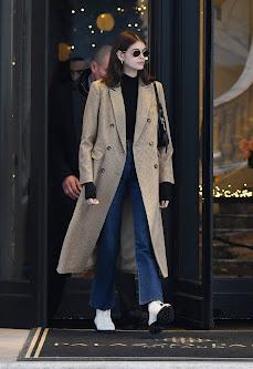 Kaia Gerber - Out in Milan - 01/12/2019