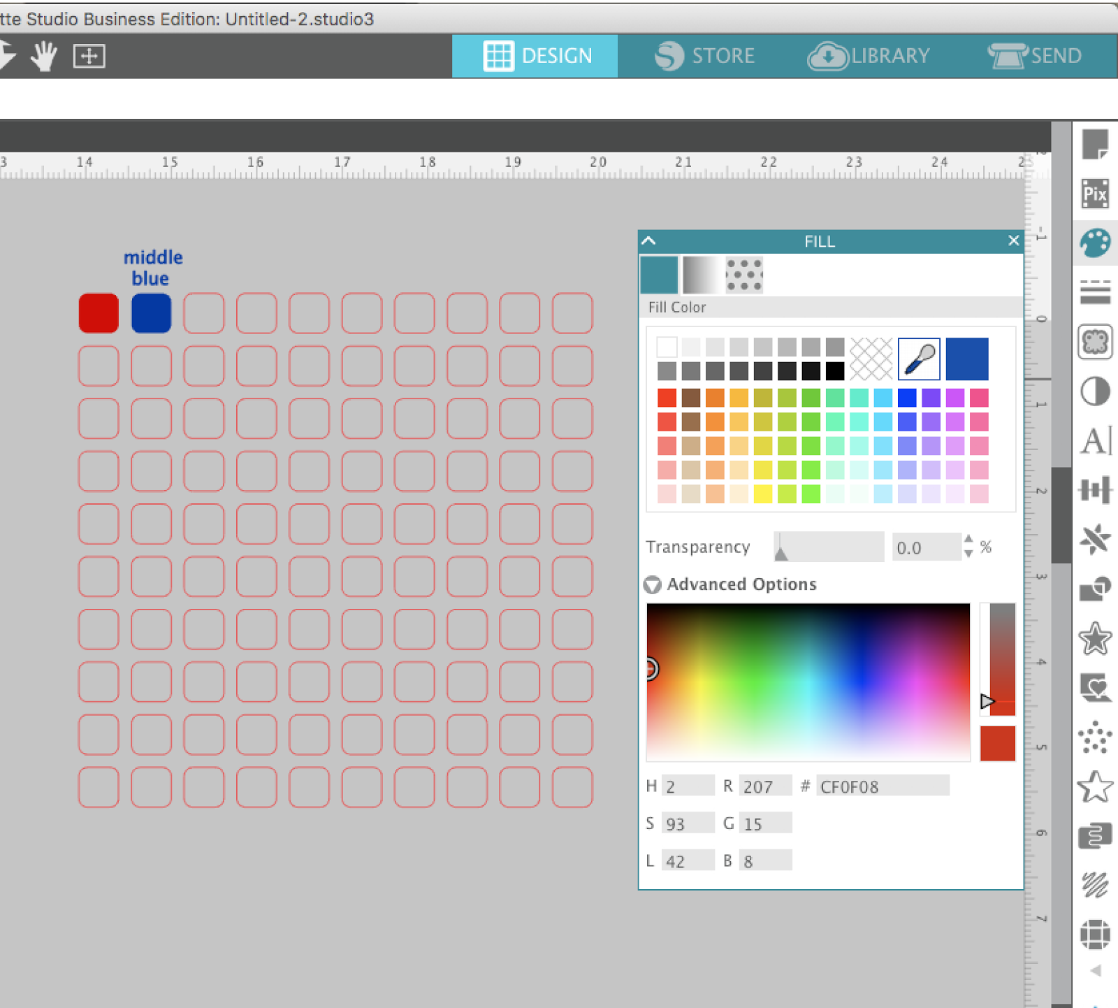 Saving custom and hex colors in silhouette studio free silhouette silhouette studio silhouette design studio silhouette studio tutorials how to use silhouette fandeluxe Gallery