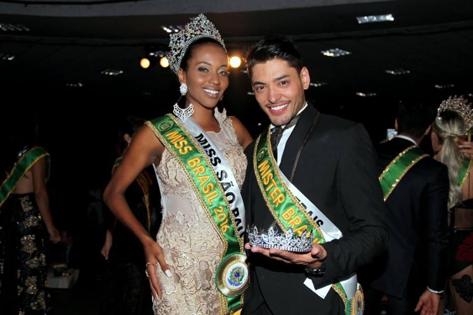 Mayrane Barbosa e Willian Herculano, Miss e Mister Brasil 2016 - Foto: Salani Antônio