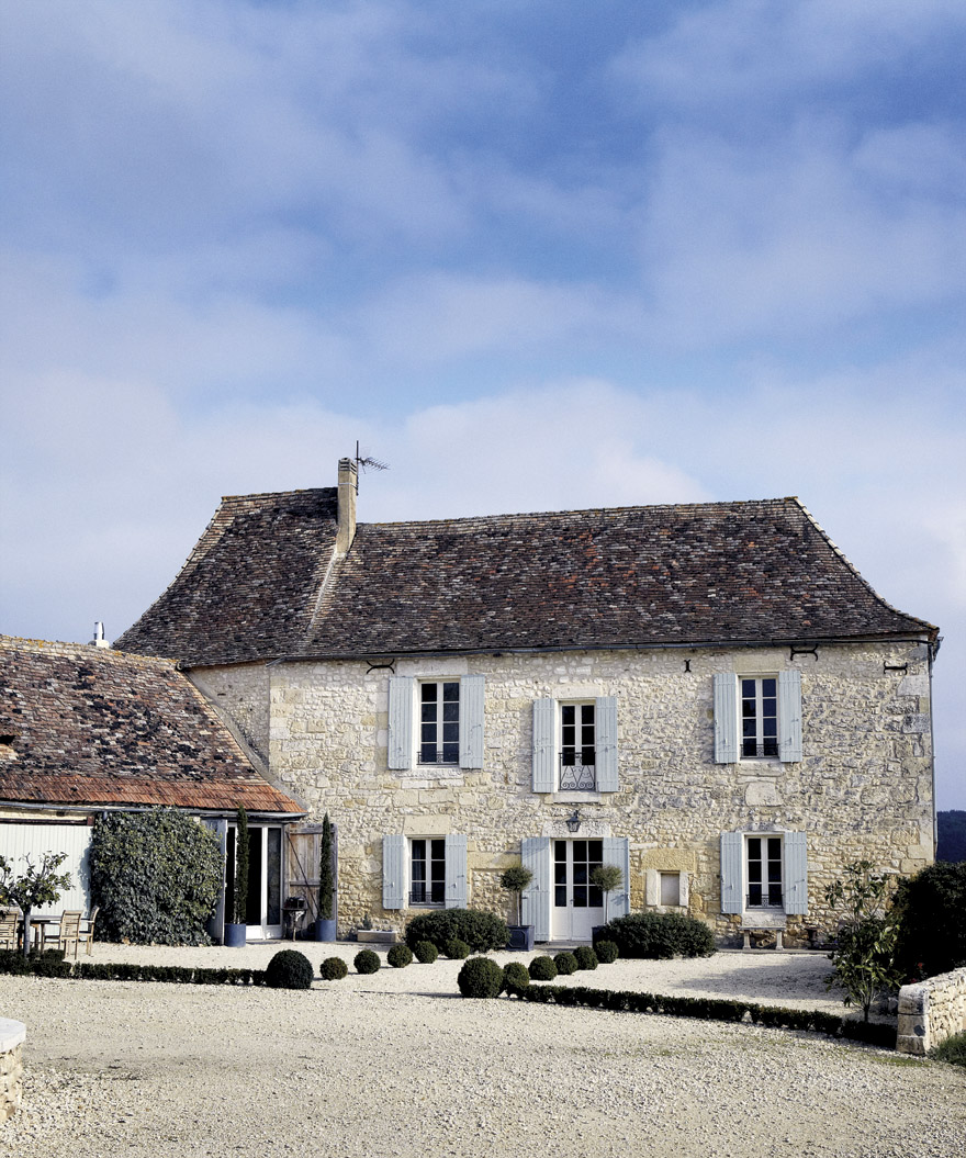 French Exterior: Roses And Rust: French Farmhouse
