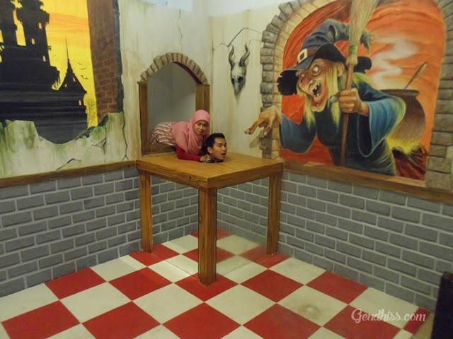 Bali 3D Trick Art Gallery