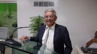 Vereador Marcos de Enoque PSDB em discurso fala de auxéncia na última terça-feira e lamenta episódio