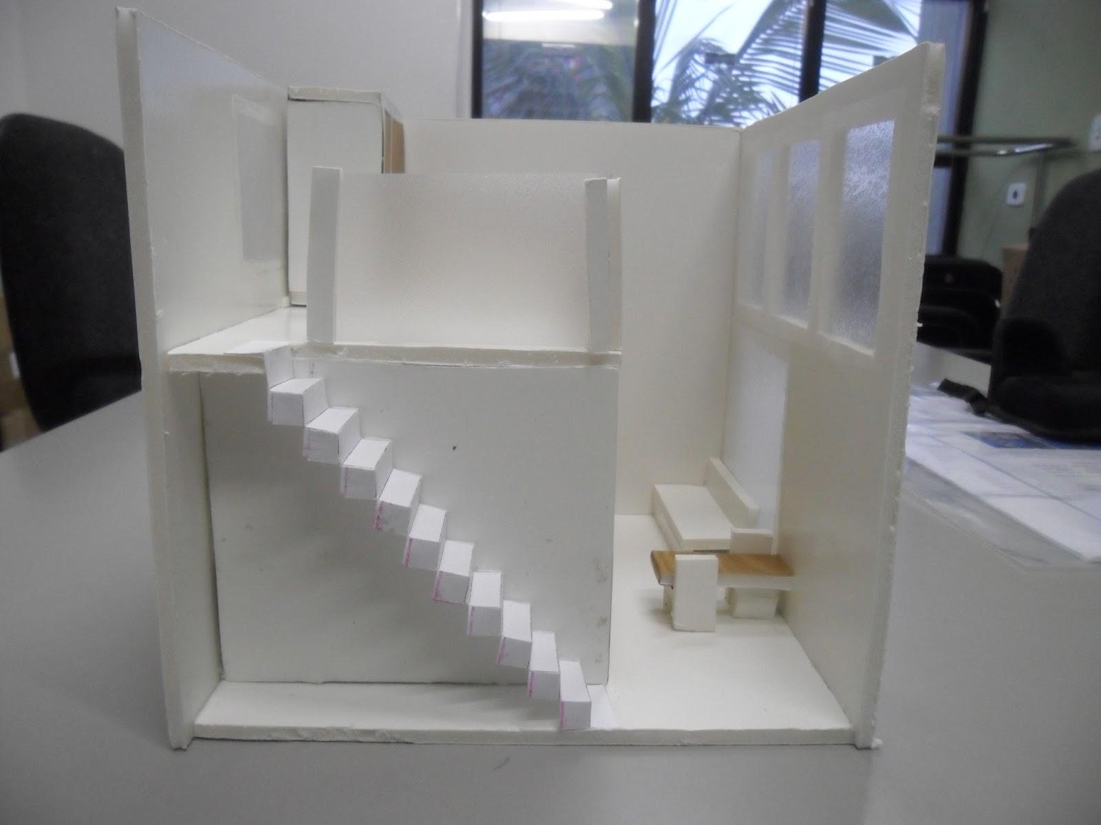 Arquitetura e urbanismo projetos da turma for Casa moderna 4x4
