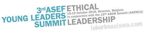 The 3rd ASEFYLS on Ethical Leadership at Belgium 2018