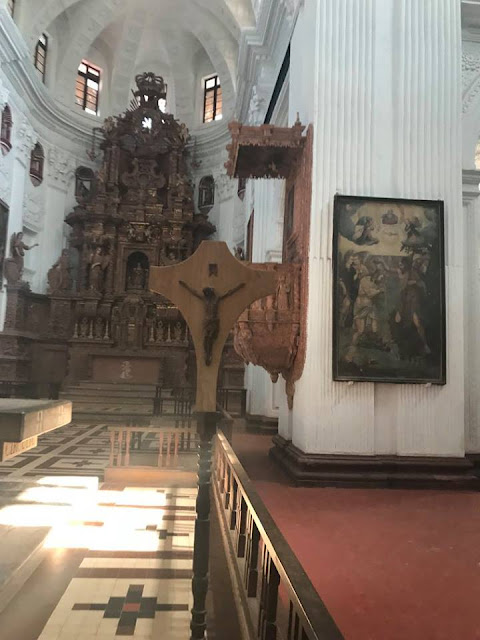 St Cajetan church Old Goa