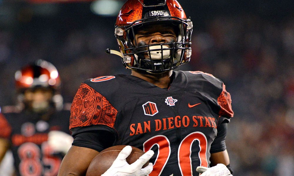 low priced 6389c fb209 San Diego State's Rashaad Penny: The Best College Football ...