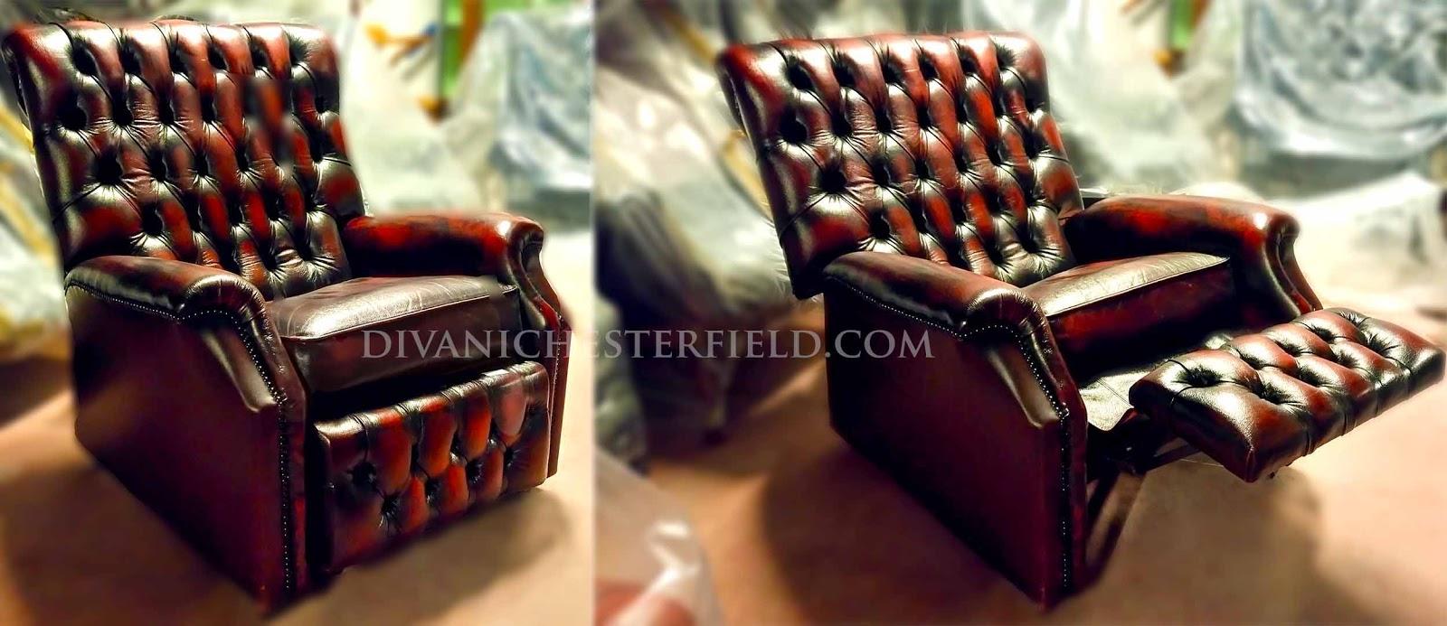 Divani chesterfield vintage usati e nuovi for Poltrona chesterfield