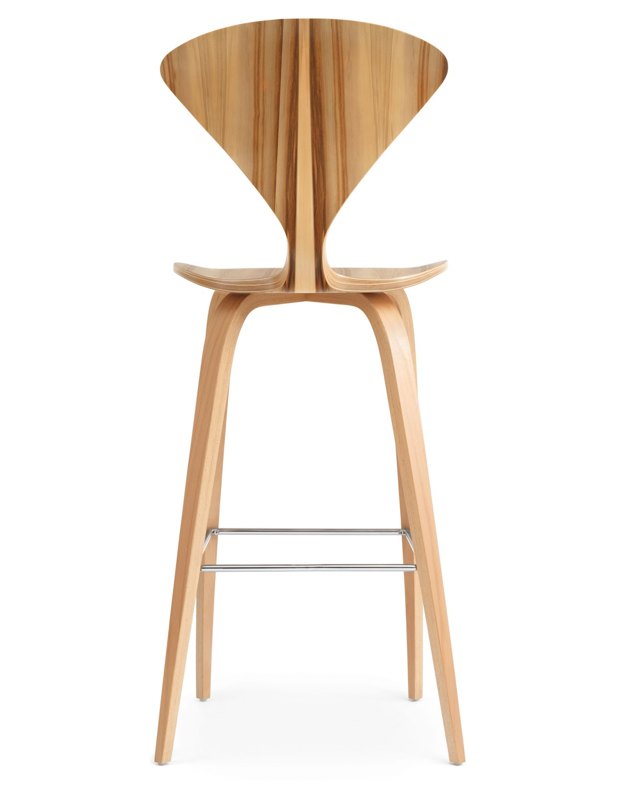 Modern Counter Height Stools Cherner Red Gum Wood Base Modern Bar Or Counter Stool Height