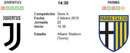 Juventus vs Parma en VIVO