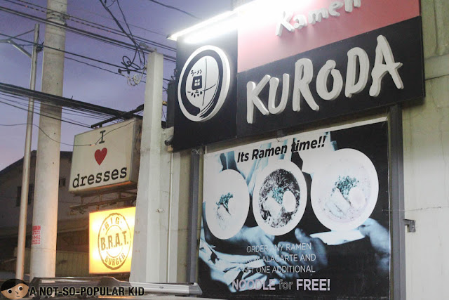Ramen Kuroda in BF Homes, Parañaque
