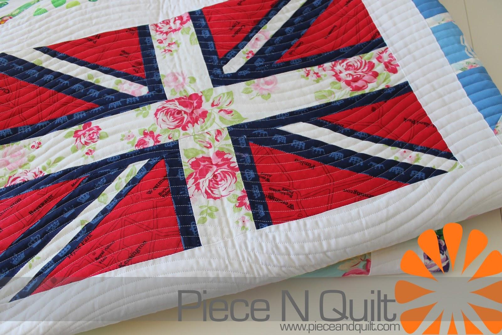 Piece N Quilt Union Jack Quilt
