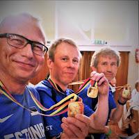 Eesti meeskond koosseisus: Andres Talver,  Kalle Kuusik ja Andres Viira.  Foto: Tarmo Gede