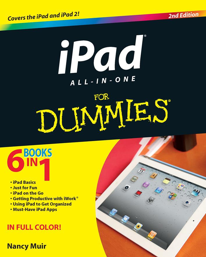 iPad All-in-One For Dummies, 2nd Edition