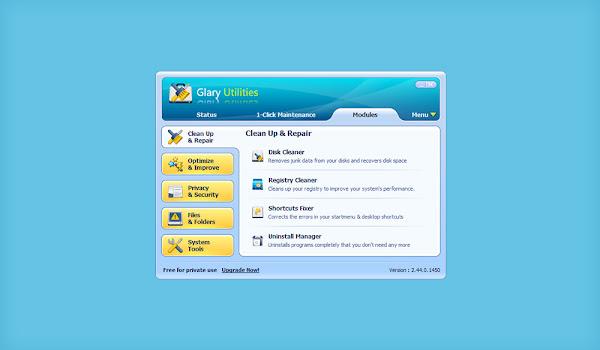 Glary Utilities: Gelişmiş Sistem Bakım Programı