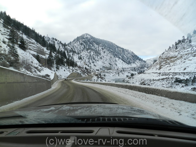 We begin climbing out of the canyon as we approach Lytton, BC